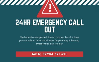 24 Hour Emergency Plumbing & Heating Call out