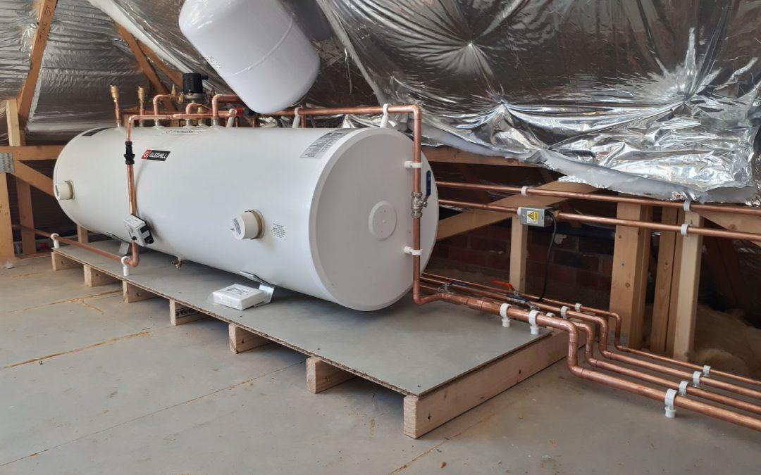 Gledhill Cylinder Installation – Plumber – Taunton – Somerset