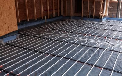 Brand new extension – Underfloor Heating